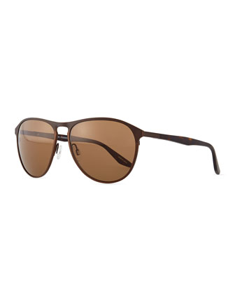 Koppin Frame Sunglasses, Brown