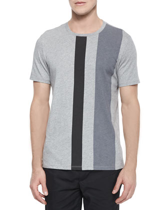 Vertical Stripe Crewneck Tee, Long-Sleeve Jersey Henley & Tech City ...