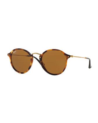 Vintage Tortoise Round Sunglasses