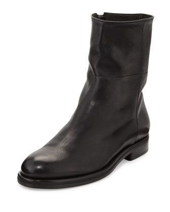 Vaughn Calfskin Boot, Black