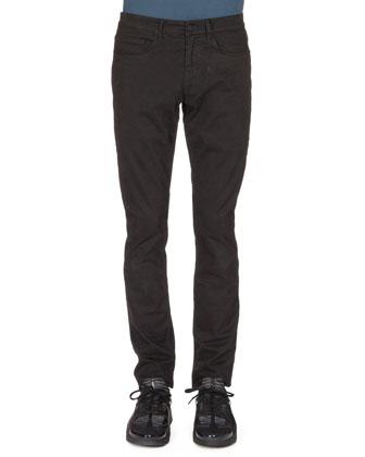 UFO & Symbol-Print Crewneck Sweater & Brushed-Cotton Chino Pants