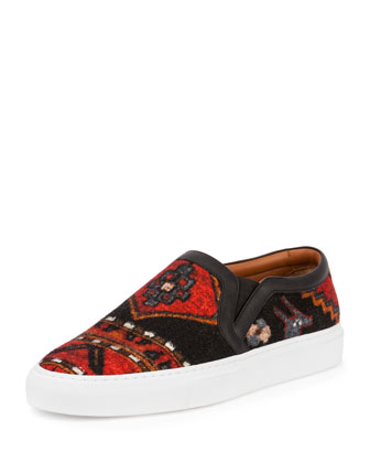 Persian Rug-Print Skate Shoe, Multi