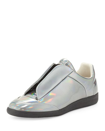 Future Metallic Low-Top Sneaker, Silver