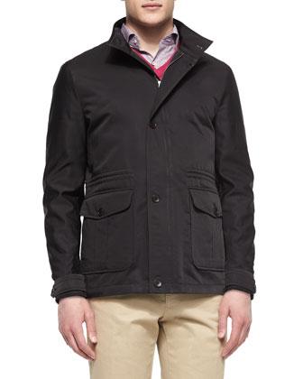 Palmetto Lightweight Jacket, Black