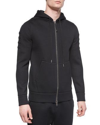 Fleece Zip-Up Hoodie & Basic Fleece Track Pants