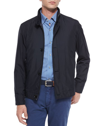 Barracuda Blouson Jacket, Navy