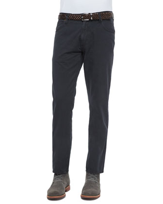 Ashland Five-Pocket Pants, Black