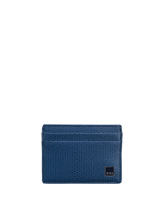 Monaco Slim Card Case with ID Lock Technology, Blue