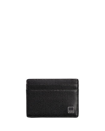 Monaco Slim Card Case with ID Lock Technology, Black