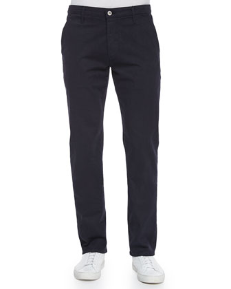 Lux Slim-Fit Chino Pants, Navy