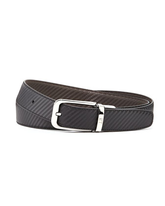 Chassis Twist Reversible Belt, Black/Brown