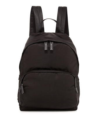 Zaino Men's Clean Nylon Backpack