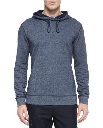 Long Sleeves Cotton Hoodie | Neiman Marcus | Long Sleeves Cotton