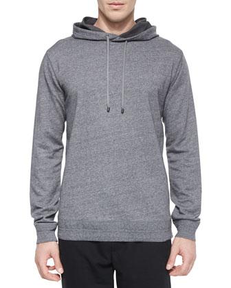 Long-Sleeve Pullover Hoodie & Traveler Wool Jogger Pants