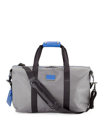 Small Alpha Duffel Bag, Gray