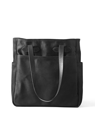 Cotton Twill Open Tote Bag