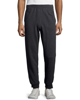 Cotton Sweatpants, Charcoal