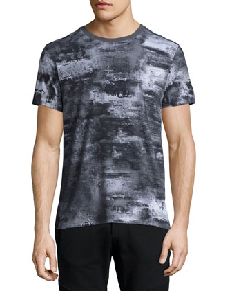 Boyton Printed Short-Sleeve T-Shirt, Dark Gray