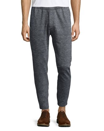Sterling Heathered-Knit Sport Coat, Pier Heathered-Knit Sweatpants & Men's ...