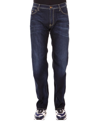 Aquila Five-Pocket Denim Jeans