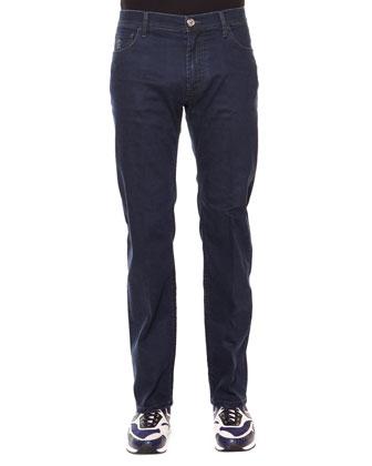 Palladio Five-Pocket Denim Jeans, Blue