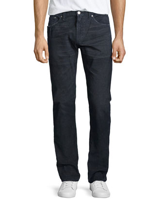 Holden Slim Corduroy Pants, River Gray