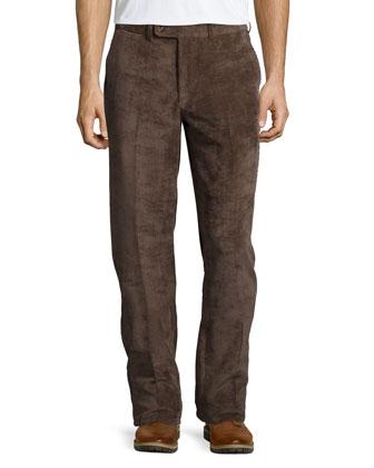 NanoLuxe Corduroy Pants, Brown