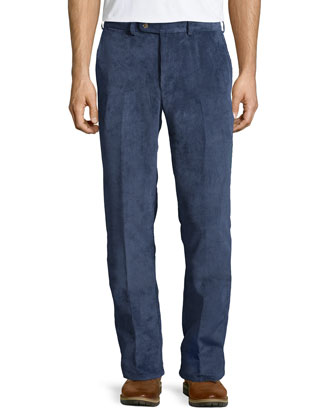 NanoLuxe Corduroy Pants, Blue