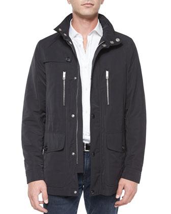 Kinstone Utility Jacket, Black