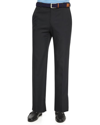 Durham High-Drape Performance Pants, Black