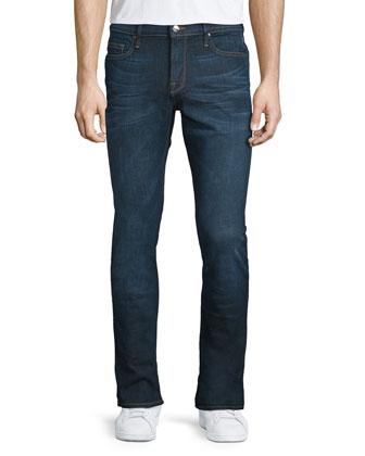 DENIM L'Homme Sierra Skinny Denim Jeans, Dark Blue