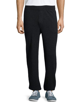 Cashmere Lounge Pants, Charcoal