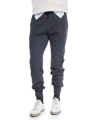 Lead Knit Spa Pants, Gray