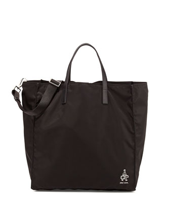 Porter Men's Nylon Tote Bag, Black (Nero)