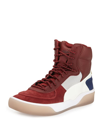 McQ Brace Mid Sneaker, White