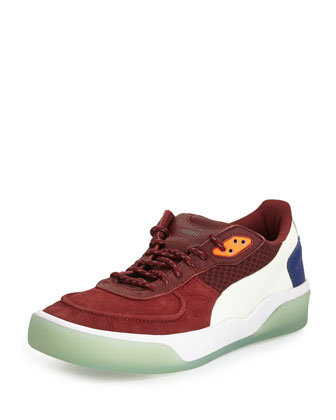 McQ Brace Low Sneaker, Brown