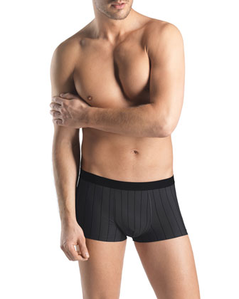 Shadow Stripes Boxer Briefs, Gray