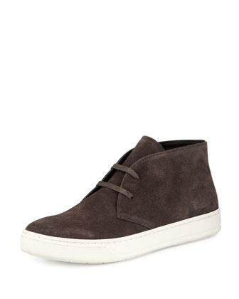 Abe Suede Chukka Sneaker, Gray