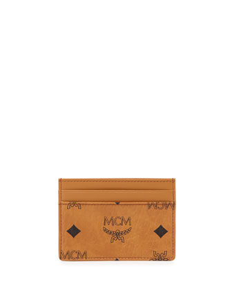 Heritage Card Case, Cognac