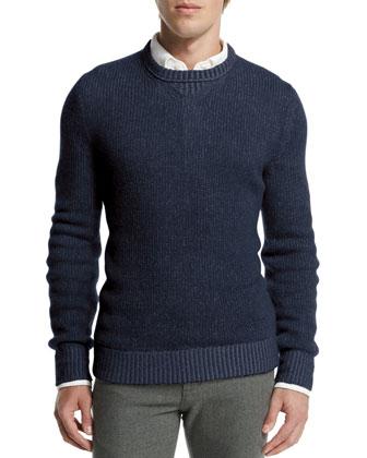 Baby Cashmere Crewneck Sweater,