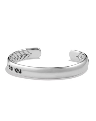 Streamline Silver Cuff Bracelet