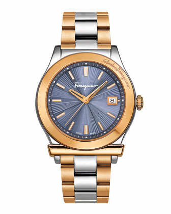 Two-Tone Stainless Steel Watch