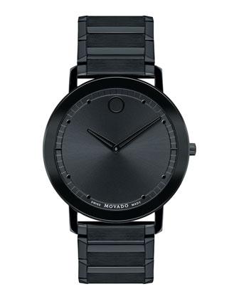 40mm Sapphire Watch, Black