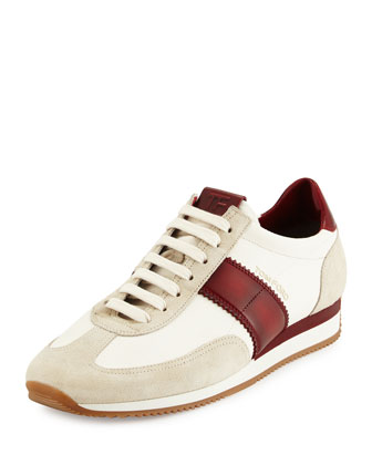 Orford Colorblock Trainer Sneaker, Red
