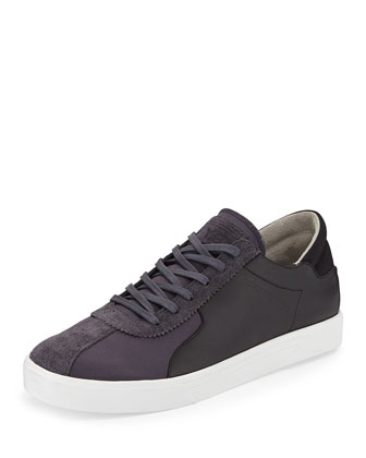 Rydge Low-Top Sneaker, Black/White
