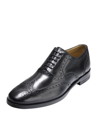 Cambridge Wing-Tip Oxford, Black