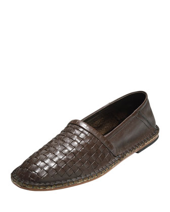 Camden Woven Loafer, Brown