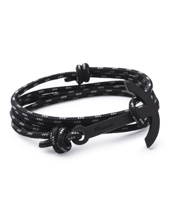 Modern Anchor Rope Bracelet
