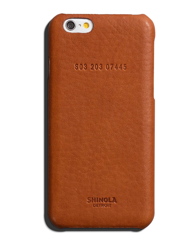 Leather Wrapped iPhone 6 Case - Shinola