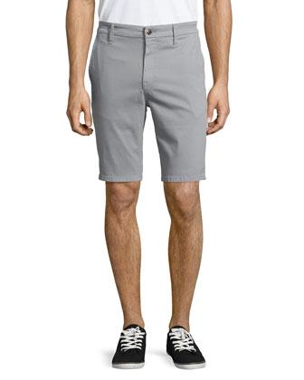 Brixton Woven Trousers Shorts, Dark Gray